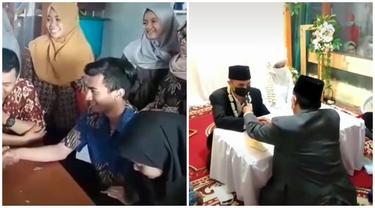 Berawal dari Bercanda Ucap Ijab Kabul, Pasangan Ini Melaju Sampai Pelaminan