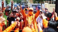 Danny Pomanto-Fatmawati Rusdi pemenang Pilwalkot Makassar 2020 (Liputan6.com/Istimewa)