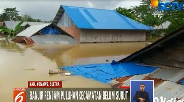 Warga korban banjir yang sudah beberapa hari mengungsi di Masjid Al-Muhajirin di Bengkuring Sempaja, membatalkan niatnya untuk kembali ke rumah.