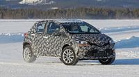 Toyota tengah menguji Crossover terbarunya di daerah bersalju. (Autoevolution)