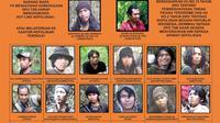 Daftar kelompok Santoso yang menjadi perburuan aparat di Satuah Tugas Tinombala