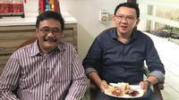 Ahok berkumpul bersama Djarot Saiful Hidayat. (Instagram @happydjarot)
