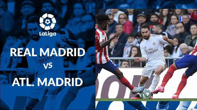 Berita Video statistik pertandingan Real Madrid vs Atletico Madrid pada laga pekan ke-22 La Liga Spanyol di Santiago Bernabeu, Sabtu (1/2/2020)