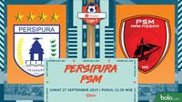 Shopee Liga 1 - Persipura Jayapura Vs PSM Makassar (Bola.com/Adreanus Titus)