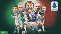 Logo Serie A 2019/2020 (Bola.com/Adreanus Titus/Faris Kholid)