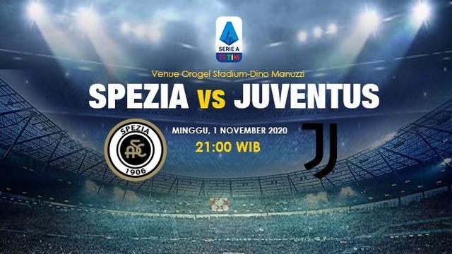 Link Live Streaming Liga Italia Spezia Vs Juventus Di Vidio Malam Ini Bola Liputan6 Com