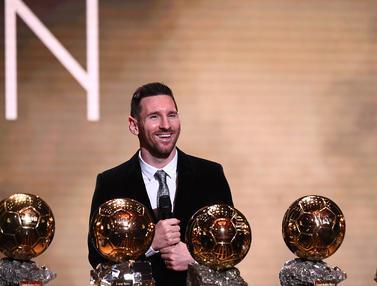 Lionel Messi Raih Ballon d'Or 2019, Ukir Sejarah Baru