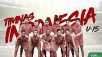 Timnas Indonesia U-15. (Bola.com/Dody Iryawan)