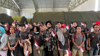 Pemerintah mengawal kepulangan 285 Warga Negara Indonesia (WNI) dari Natuna, Kepulauan Riau, setelah menjalani proses observasi, Sabtu (15/2).