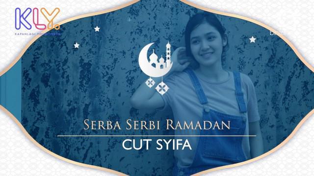 Bulan Ramadan tahun ini bakal dilalui Cut Syifa di lokasi syuting, ia dipercaya bermain dalam sinetron bertema Ramadan yang tayang di SCTV. Lantas seperti apa Cut Syifa mempersiapkan ibadahnya tahun ini?
