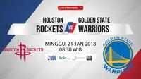 Houston Rockets Vs Golden State Warriors (Bola.com/Adreanus Titus)