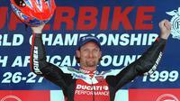 Carl Fogarty ingin WSBK tiru MotoGP (YOAV LEMMER / AFP)
