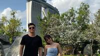 Kemesraan Gisel dan Wijin di Singapura (Sumber: Instagram/gisel_la)