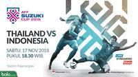 Piala AFF 2018 Thailand Vs Indonesia Duel Pemain (Bola.com/Adreanus Titus)