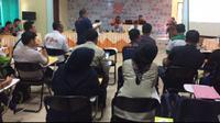 KPUD Muara Enim menerima hasil DPS di 20 kecamatan (Liputan6.com / Nefri Inge)