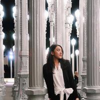 Gaya busana Putri Tanjung. (Foto: instagram/ putri_tanjung)