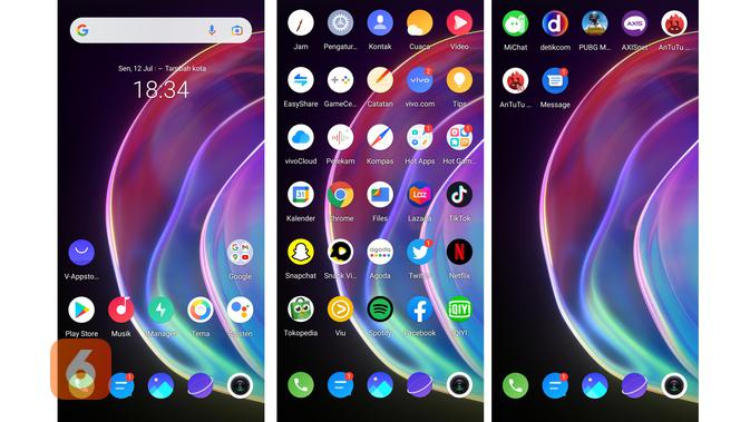 UI Vivo V21 5G (Liputan6.com/ Agustin Setyo W).