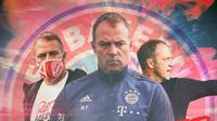 Bayern Munchen - Hans-Dieter Flick (Bola.com/Adreanus Titus)