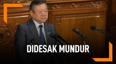 Telat 3 Menit, Menteri Kabinet Jepang Didesak Mundur
