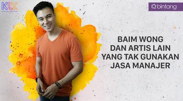Baim Wong dan Artis Lain yang Tak Mau Gunakan Jasa Manajer. (Foto: Bintang Pictures/Desain Grafis: Muhammad Iqbal Nurfajri/Bintang.com)