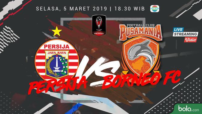 Persija Vs Sleman Photo: Piala Presiden 2019: Persija Hujani Gol Gawang Borneo FC