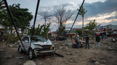 Tsunami di Kota Palu