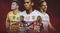 Bali United - Ilustrasi Pemain Veteran (Bola.com/Adreanus Titus)
