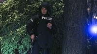 Serangan teror di Vienna. Dok: AP Photo/Ronald Zak