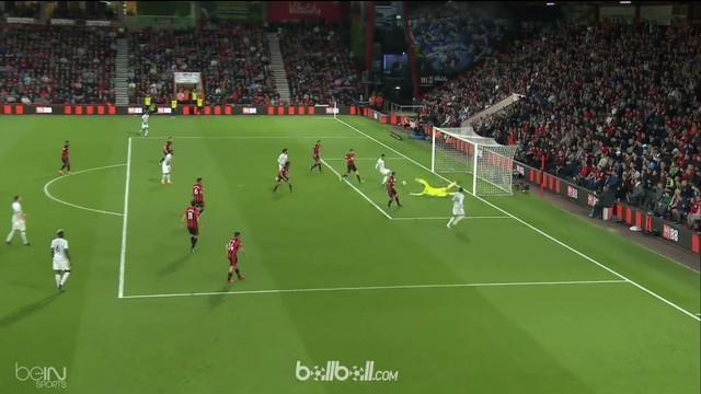 Manchester United merespon kekalahan dari West Brom akhir pekan lalu dengan meraih kemenangan 2-0 dari Bournemouth.   Umpan terobo...