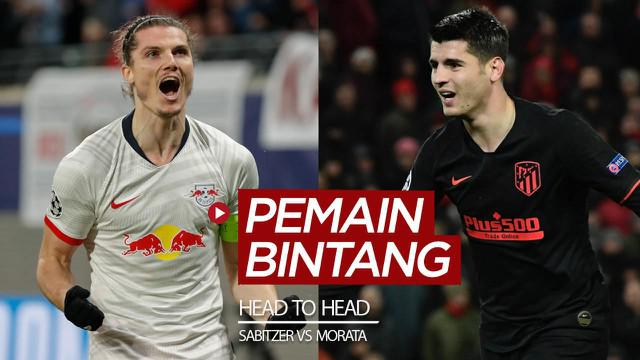 Berita video head to head pemain bintang di RB Leipzig dan Atletico Madrid jelang pertemuan kedua tim tersebut di perempat final Liga Champions 2019/2020.