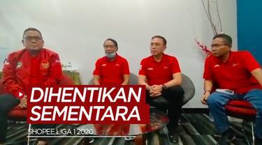 Berita video Menpora dan PSSI sepakat untuk menghentikan sementara penyelenggaraan Shopee Liga 1 2020, begitu juga dengan Liga 2 musim ini.