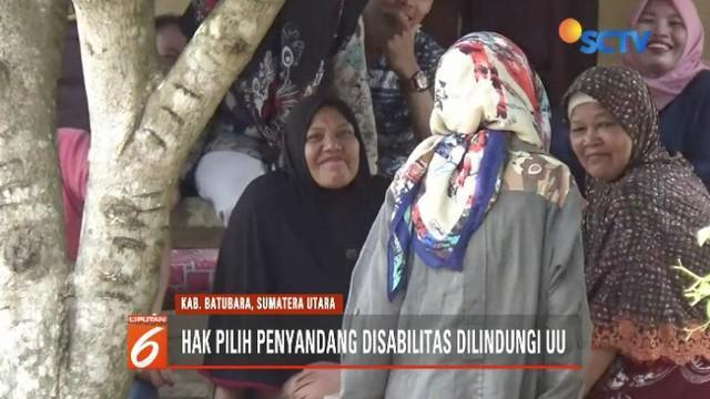 Terekam video amatir wanita penyandang gangguan jiwa mengamuk saat mencoblos di Batubara, Sumatera Utara. Namun, PPS setempat lakukan langkah antisipatif.