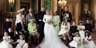 Royal Wedding Pangeran Harry dan Meghan Markle sudah dilaksanakan. (instagram/kensingtonroyal)