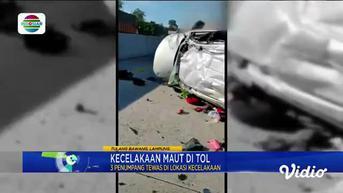 Fokus Pagi : Kecelakaan Maut Di Tol, 3 Tewas