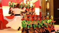 Tari Samansema yang Dipertunjukkan untuk Peringati 70 Tahun Hubungan Diplomatik Indonesia-Turki di Ankara, Sabtu (21/9/2019) (Liputan6.com/KBRI Ankara)