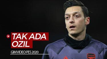 Berita video gelandang Arsenal, Mesut Ozil, dikabarkan dihapus karakternya dari gim video sepak bola PES (Pro Evolution Soccer) 2020. Ada apa?