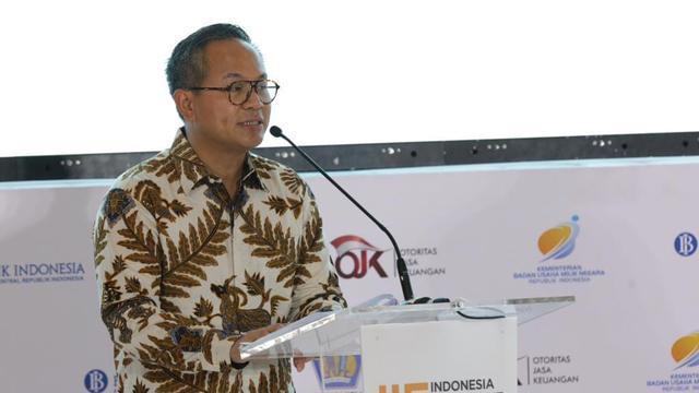 Direktur Utama Bank Mandiri Kartika Wirjoatmodjo. Dok Humas Bank Mandiri