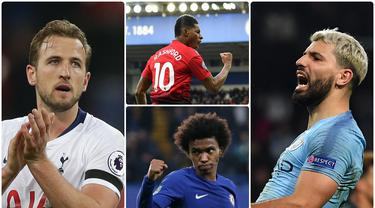 Nomor punggung 10 seolah menjadi nomor keramat di klub sepak bola. Pemain yang dipercaya menggunakan nomor 10 dapat dikatakan sebagai pemain andalan klub tersebut. Berikut 7 pemain bernomor punggung 10 yang menjadi andalan di klub Premier League. (Kolase foto AFP)