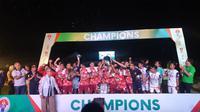 UPI Bandung juarai Piala Menpora U-21. (Istimewa).