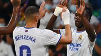 Benzema dan Camavinga jadi bintang kemenangan Real Madrid (AFP)