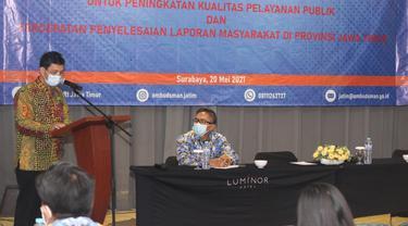Ombudsman Jatim membentuk focal point alias pejabat penghubung di seluruh inspektorat di kabupaten, kota, dan provinsi di Jawa Timur. (Istimewa)