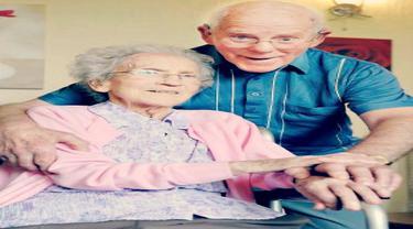 Pasangan Langgeng Rayakan Ulang Tahun Pernikahan Ke-71
