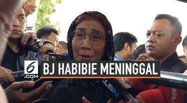 Menteri Kelautan dan Perikanan Susi Pudjiastuti masih mengingat pesan terakhir yang disampaikan BJ Habibie usai ia meledakan kapal di Batam. Apa pesannya?
