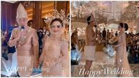 Resepsi pernikahan Ifan Seventeen dan Citra Monica (Sumber: Instagram/anchawedding_)