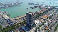 Tower poros maritim (Foto: Pelindo III)