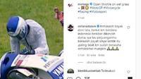 Doni Tata terjatuh (Instagram/@motogp)