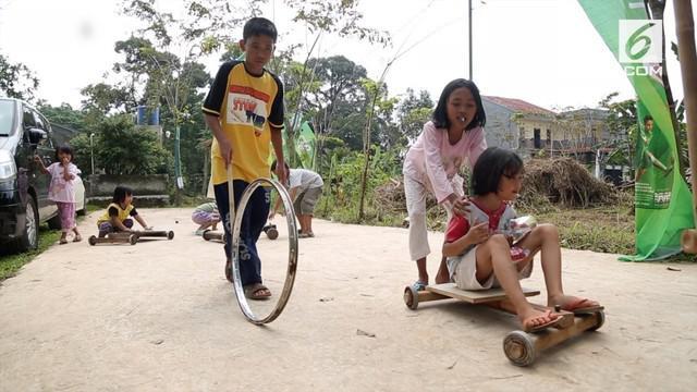 Endi Aras, pendiri Gudang Dolanan miliki mimpi bangkitkan lagi permainan tradisional Indonesia.