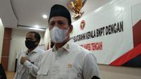 Kepala BNPT, Komjen Boy Rafli Amar saat kunjungan silaturahmi BNPT dan Pemda Sulteng di Kota Palu, Senin (10/8/2020). (Foto: Liputan6.com/ Heri Susanto).