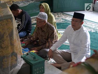 Siap Maju Pilkada Sumsel, Saifudin Aswari Ziarahi Makam Sultan Kerajaan Srwijaya