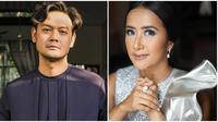 Dwi Sasono dan Widi Mulia, pasangan selebriti yang selalu romantis bak pasangan anak muda. (Sumber: Instagram/@widimulia/@dwisasono)